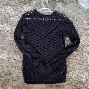 Michae Kors mesh sweater